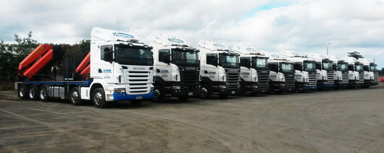 JC Walker Transport Fleet